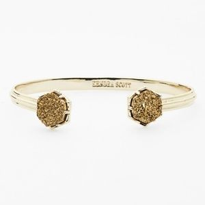 Kendra Scott Arden Station Cuff in Bronze Drusy